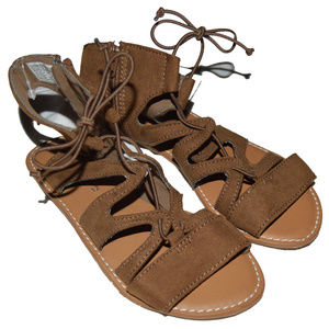 Baby Gap New Gladiator Laceup Sandals